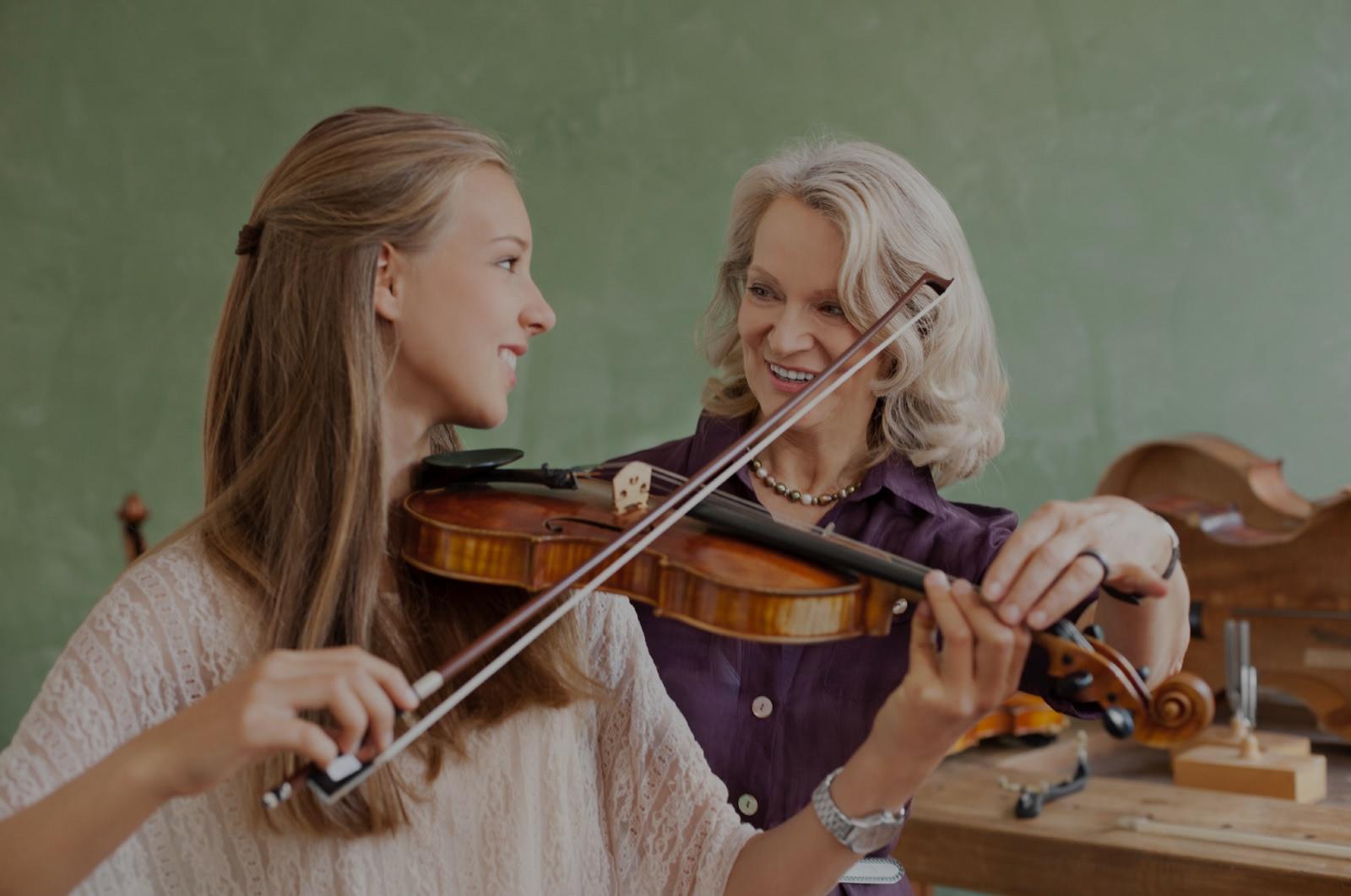 hoc kem dan violin